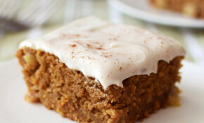 Gluten Free Pumpkin Apple Pie Cake With Optional Dairy Free Cream Cheese  Frosting – Recipes Gluten Free Dairy Free Vegetarian