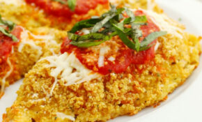 Gluten Free Quinoa Chicken Parmesan – Recipes Quinoa Chicken