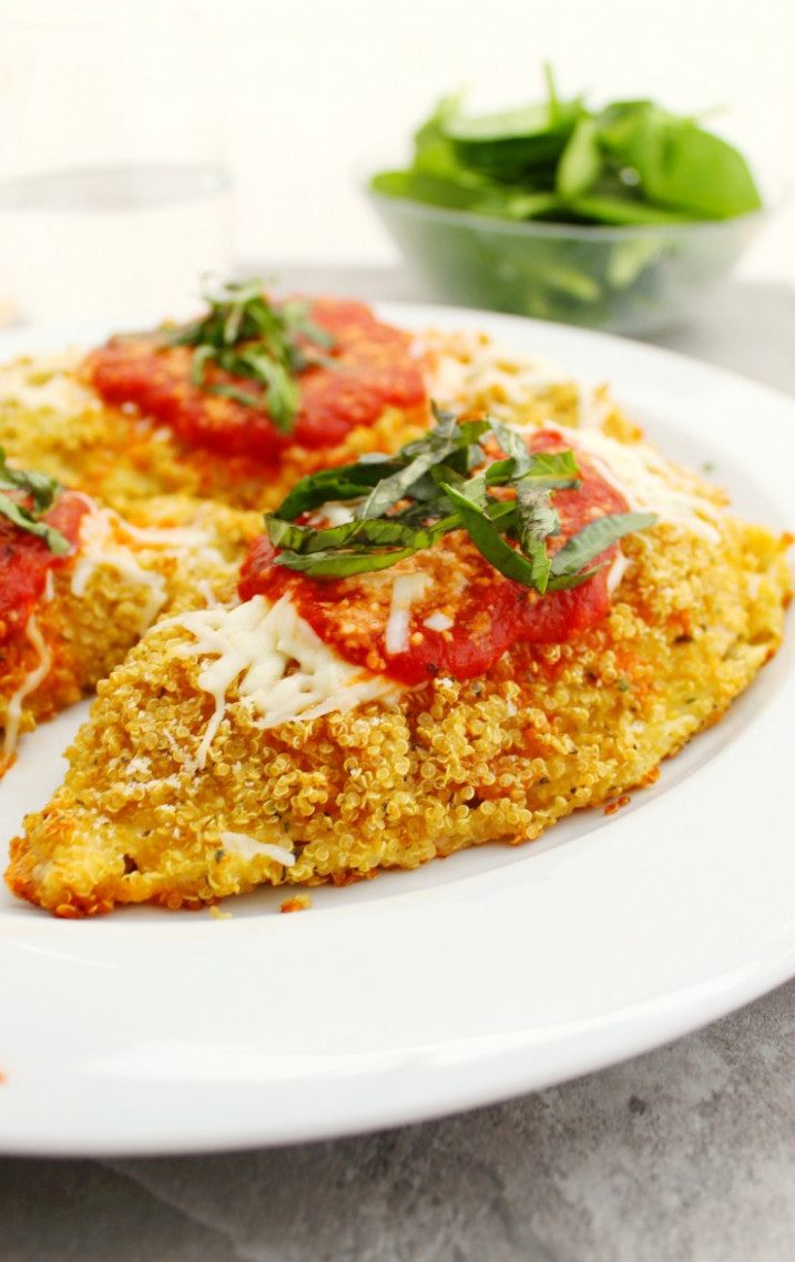 Gluten Free Quinoa Chicken Parmesan - recipes quinoa chicken