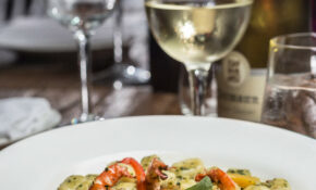 GNOCCHI WITH PESTO SALENTINO AND TIGER PRAWNS – Walnut Recipes Dinner