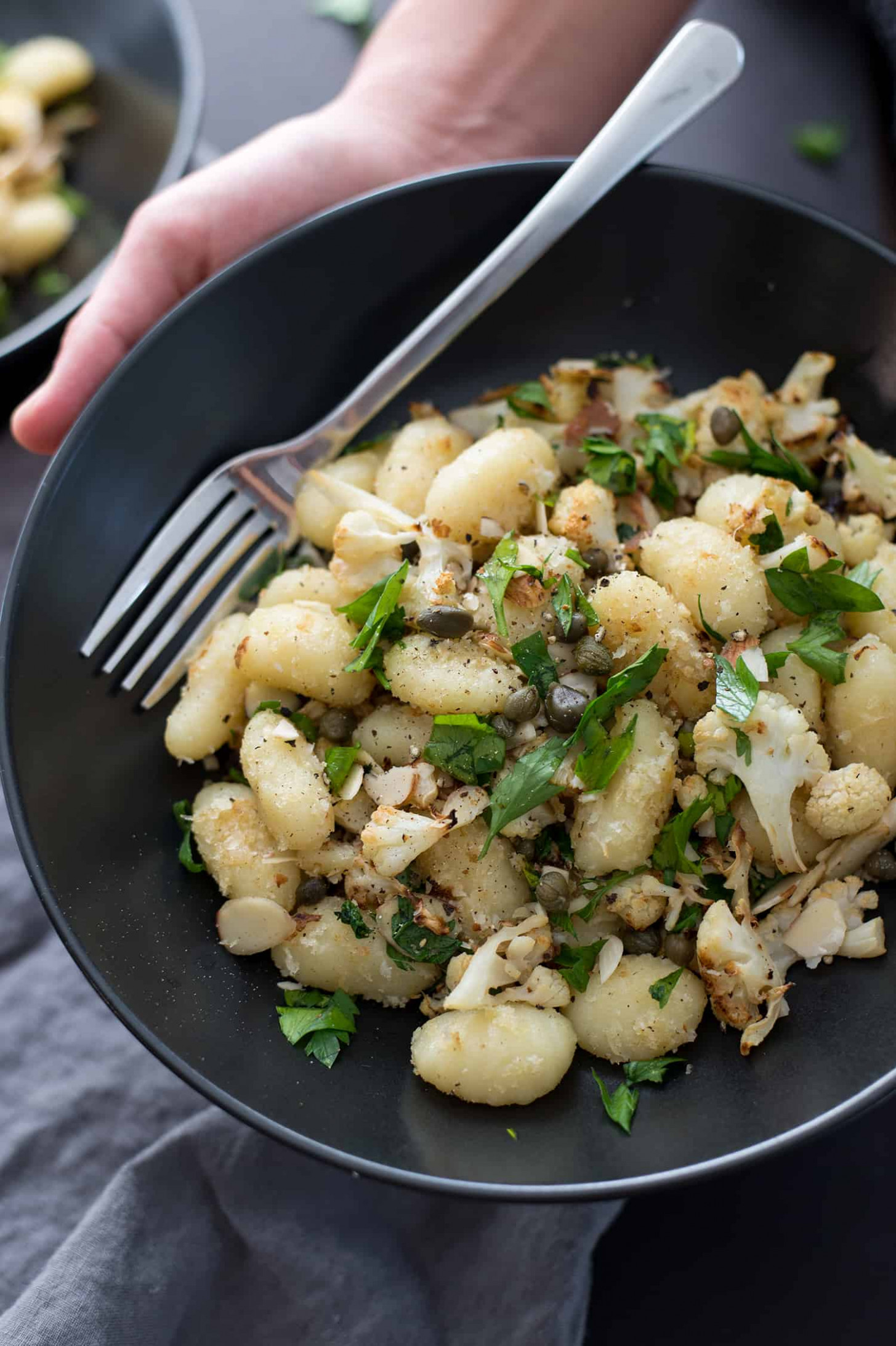 Gnocchi With Roasted Cauliflower And Lemon - Recipes With Gnocchi Vegetarian