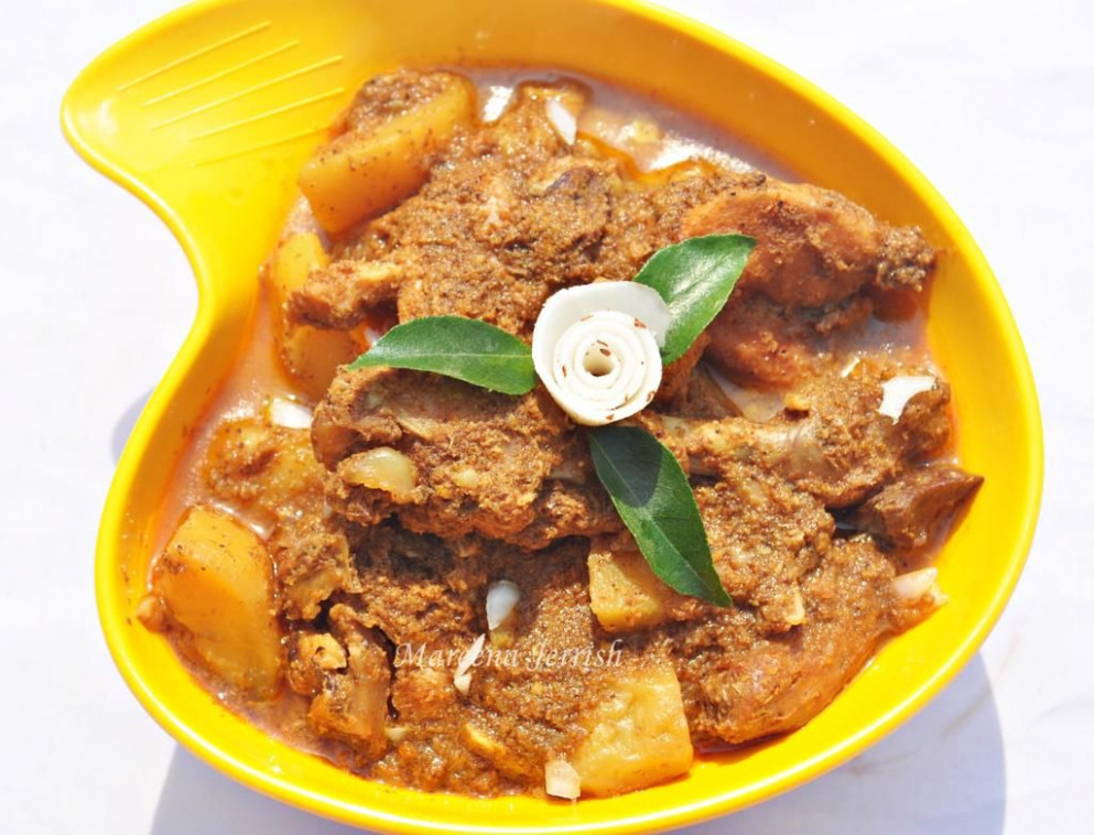 Goan Chicken Xacuti - chicken xacuti recipe