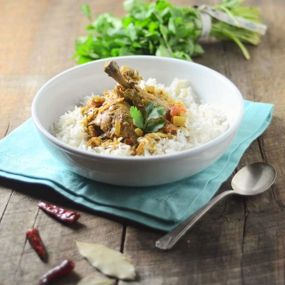 Goan Coconut Chicken Curry - Easy Slow Cooker Recipes Chicken