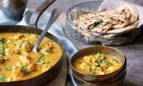 Goan Fish Curry With Garlic And Coriander Naans – Curry ..