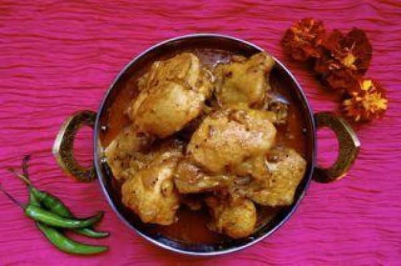 Goan Style Chicken Curry Recipe | Just A Pinch Recipes - Chicken Recipes Goan Style