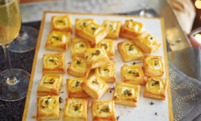 Goat's Cheese, Honey And Thyme Bites – Recipes Party Food