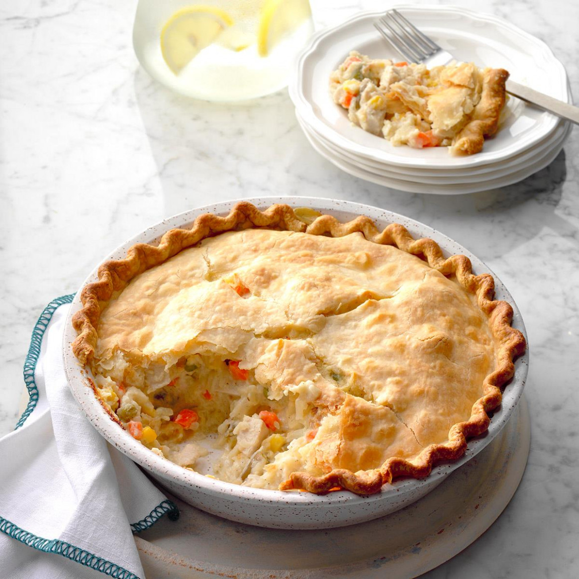 Golden Chicken Potpie Recipe | Taste of Home - chicken recipes taste