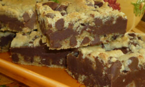 Gooey Chocolate Chip Sandwich Bars! – Old Fashioned Food Recipes