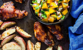 GORDON RAMSAY RECIPES | Sheet Pan BBQ Chicken With Mango ..