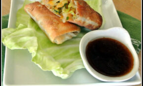 Gourmet Cooking For Two: Weekly Recipe And Romance Round Up – Recipe Vegetarian Egg Rolls