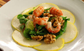 Gourmet Yabby Salad With Pears And Walnuts Recipe : SBS Food – Food Recipes With Pictures