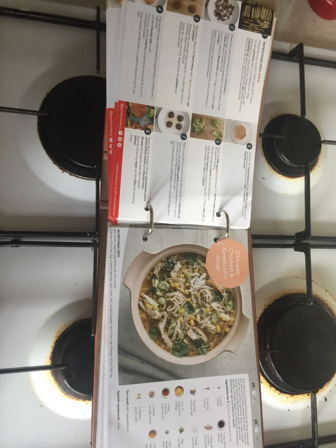 Gousto 15 recipes in Huntingdonshire for free for sale | Shpock - gousto recipes chicken