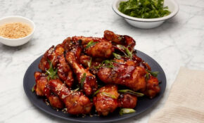 GP's Korean Baked Chicken Wings – Chicken Recipes Korean