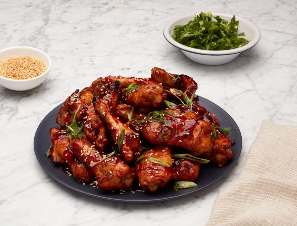 GP's Korean Baked Chicken Wings - chicken recipes korean