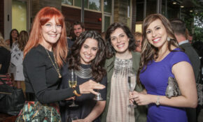 Gracie Cavnar with Guests at Delicious Alchemy: The Banquet