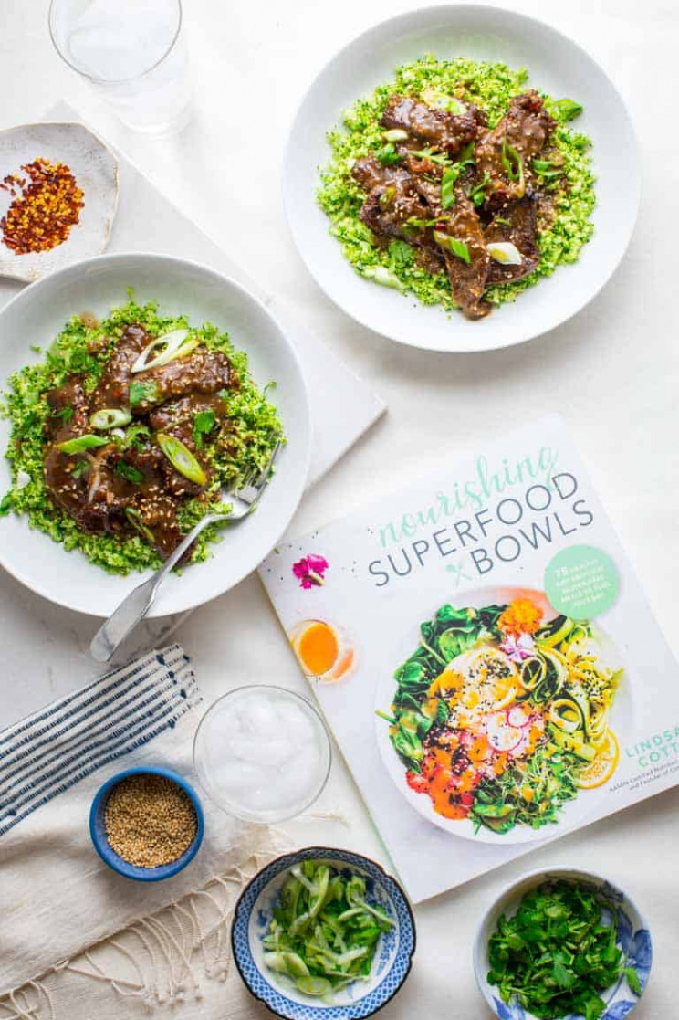 grain-free mongolian beef and broccoli bowls - Healthy ..
