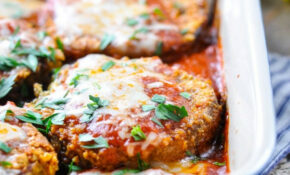 Grandma's Baked Eggplant Parmesan – Vegetarian Recipes Dinner