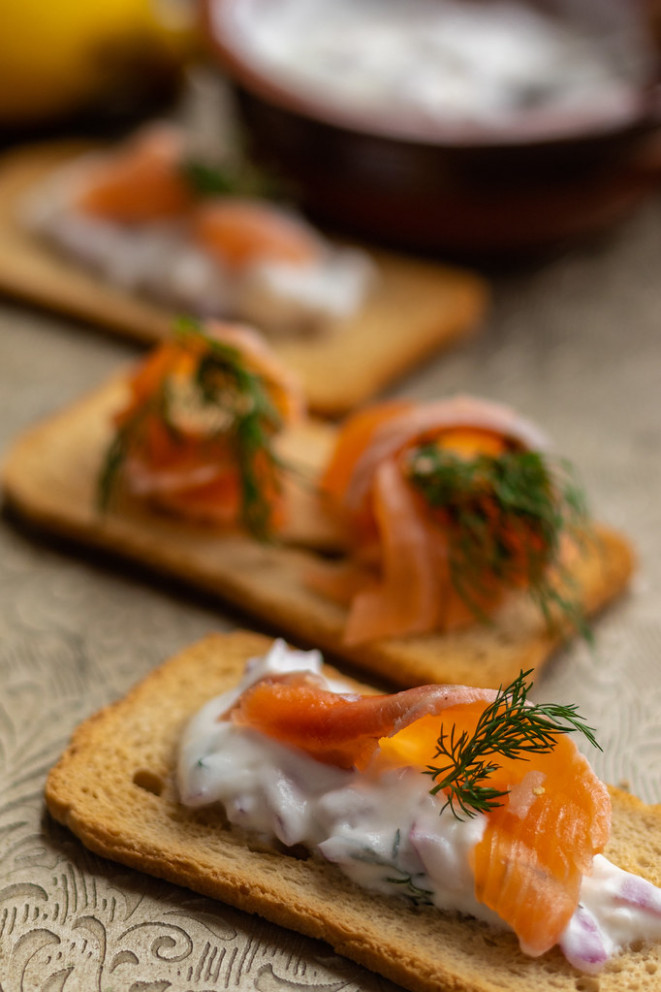 Gravlax Salmon-Vodka - food recipes meals