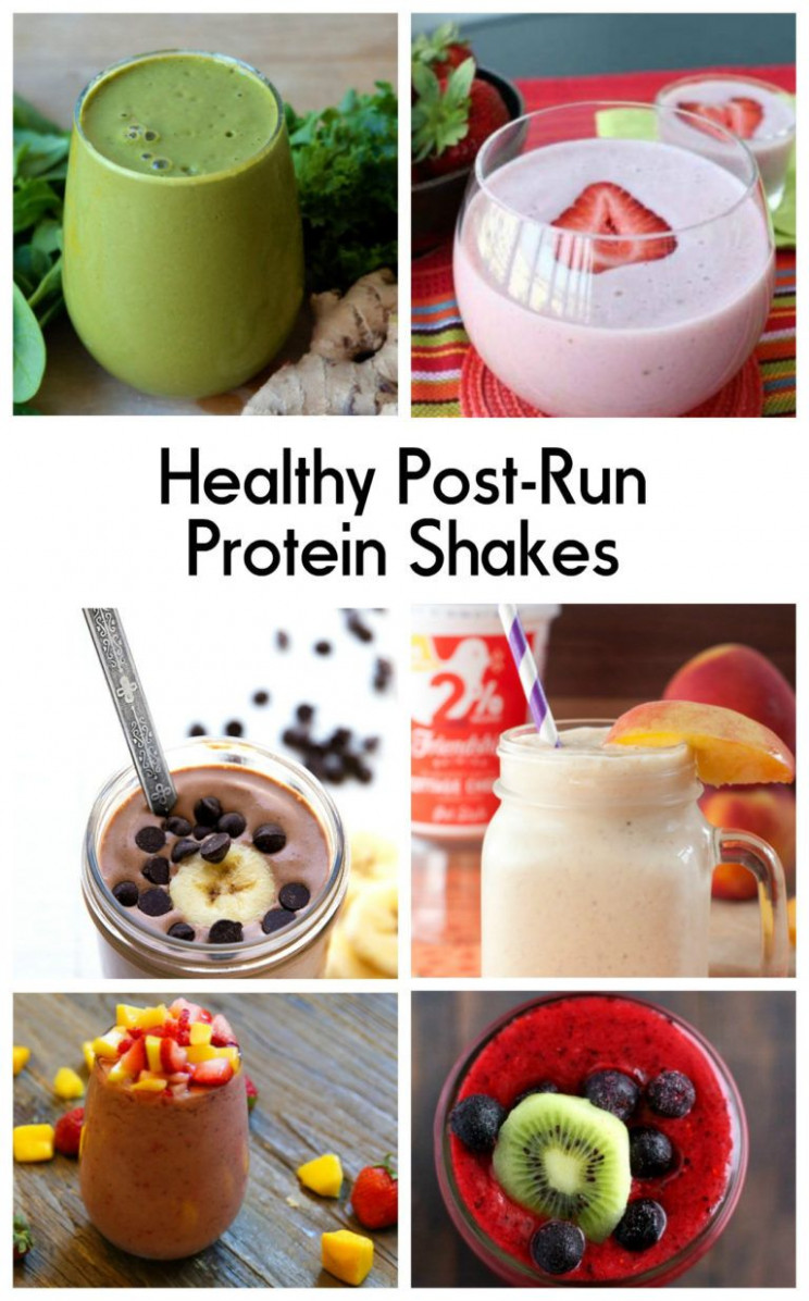 Great Protein Shakes for Runners in 10 | Protein shake ..