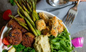 Greek Bhuddha Bowl (Plus Fried Okra) – Falafel Recipes Dinner