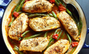 Greek Chicken And Green Bean Skillet – Recipes Greek Chicken