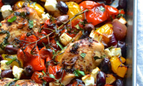 Greek Chicken Traybake – Greek Recipes Chicken