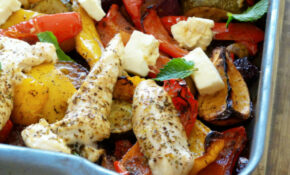 Greek Chicken Traybake – Greek Recipes Dinner