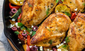 Greek Chicken With Roasted Potatoes – Chicken Recipes Greek