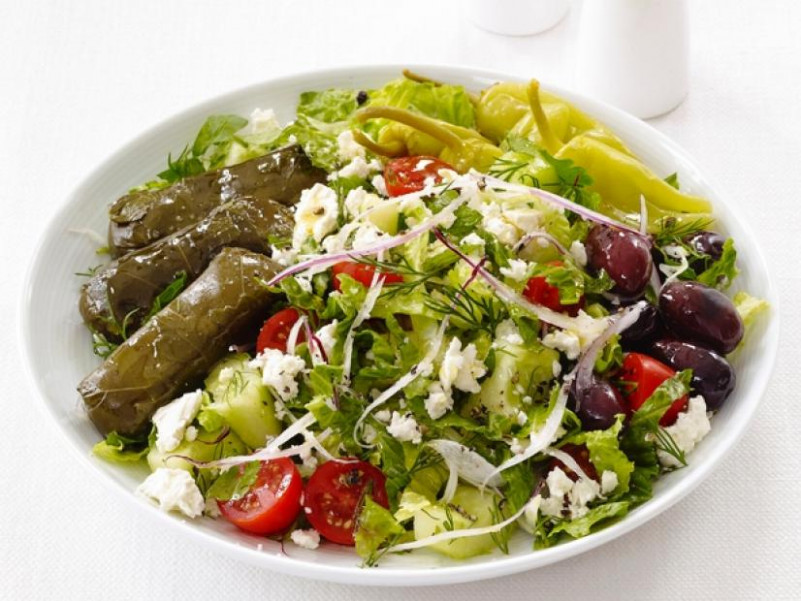 Greek Dinner Salad Recipe | Food Network Kitchen | Food ..