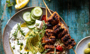 Greek Lemon Chicken Bowls With Sizzled Mint Goddess Sauce – Recipes Greek Chicken