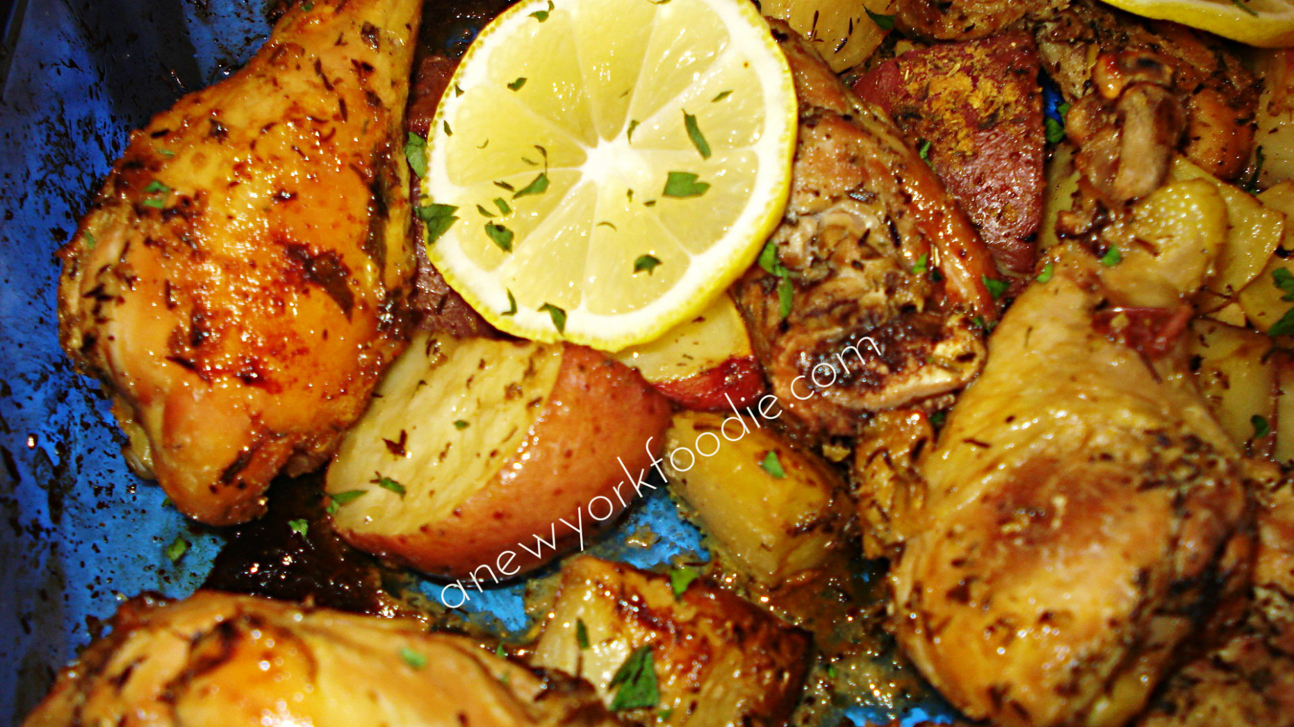 Greek Lemon Chicken Recipe — Dishmaps - greek recipes chicken