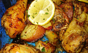 Greek Lemon Chicken Recipe — Dishmaps