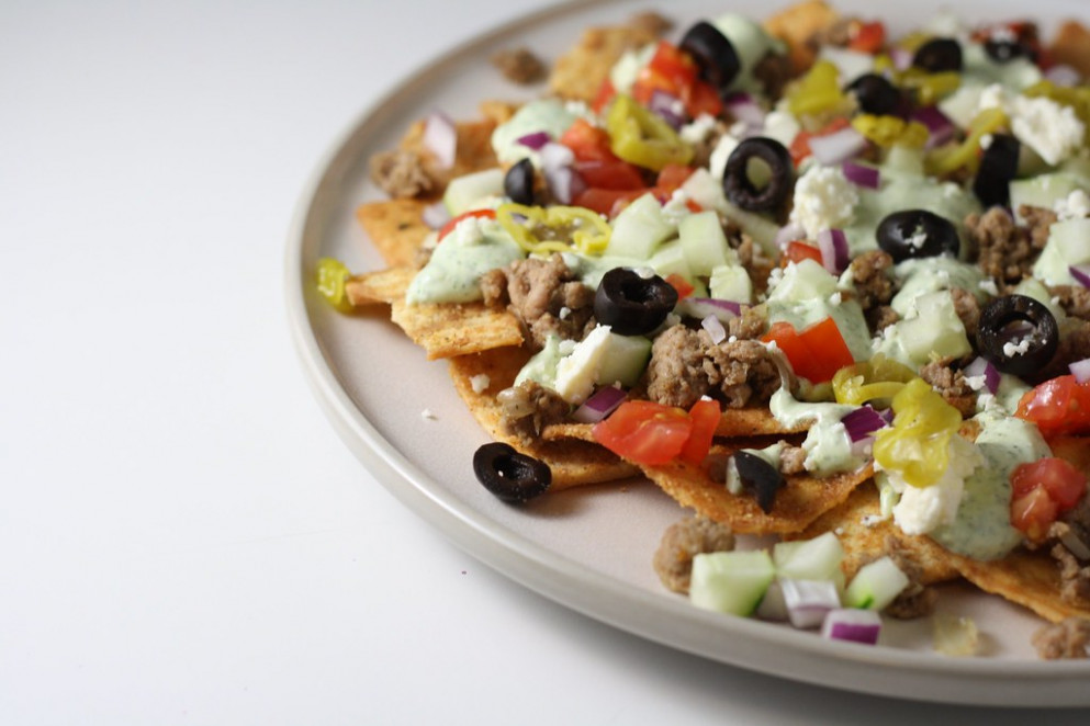 Greek Nachos - food recipes greek