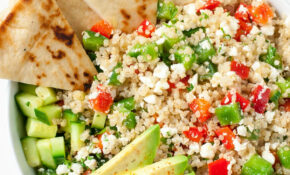Greek Quinoa Bowls – Healthy Recipes Salads