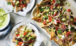 Greek Salad Nachos – Food Recipes Greek