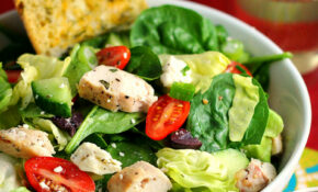 Greek Salad With Chicken – Greek Recipes Dinner
