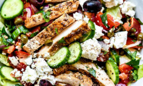 Greek Salad With Chicken – Recipes Greek Chicken