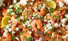 Greek Shrimp With Tomatoes And Feta – Greek Vegetarian Recipes