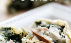 Greek Spinach Feta Chicken Pockets | Chef in Training