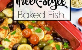 Greek Style Baked Fish – Fish Recipes Dinner Party