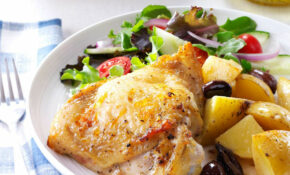 Greek Style Lemon Garlic Chicken – Food Recipes Greek