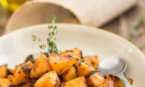 Greek Style Oven Roasted Rutabaga – Healthy Recipes Oven