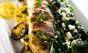 Greek Whole Roasted Branzino - Girl and the Kitchen