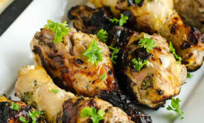 Greek Yogurt Grilled Chicken