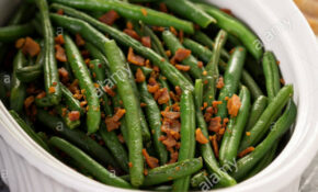 Green Beans With Bacon, Side Dish For Thanksgiving Or ..