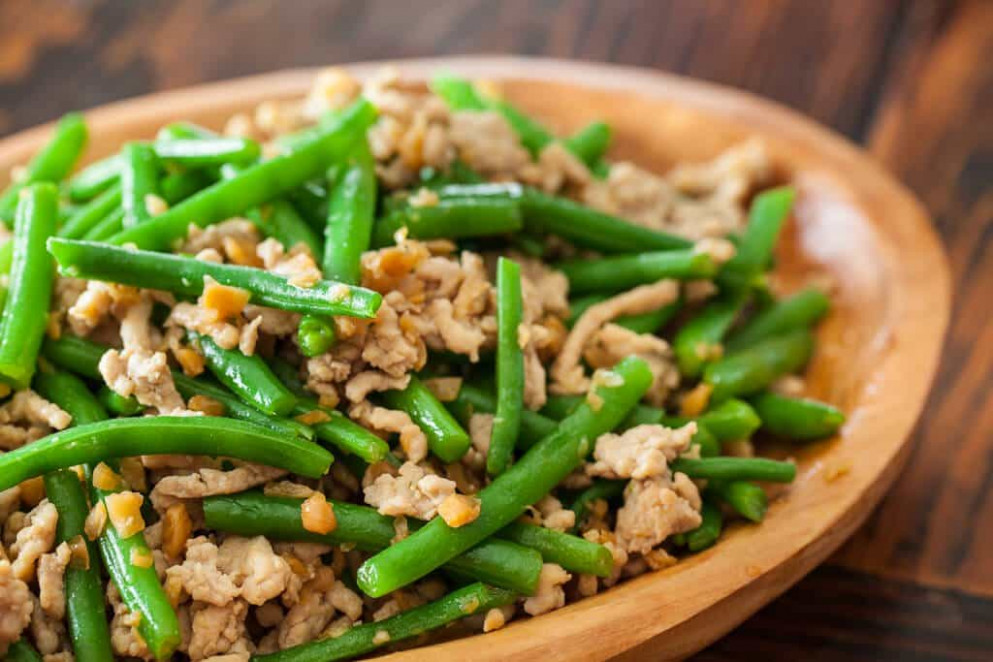 Green Beans with Chinese Preserved Radish Stir Fry ..