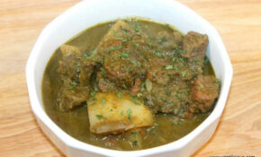 Green Beef Curry With Potatoes – Chicken Recipes Goan Style