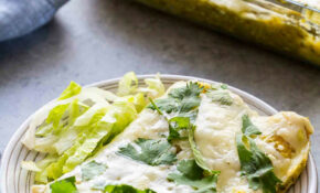 Green Chile Enchiladas – Recipes Vegetarian Enchiladas