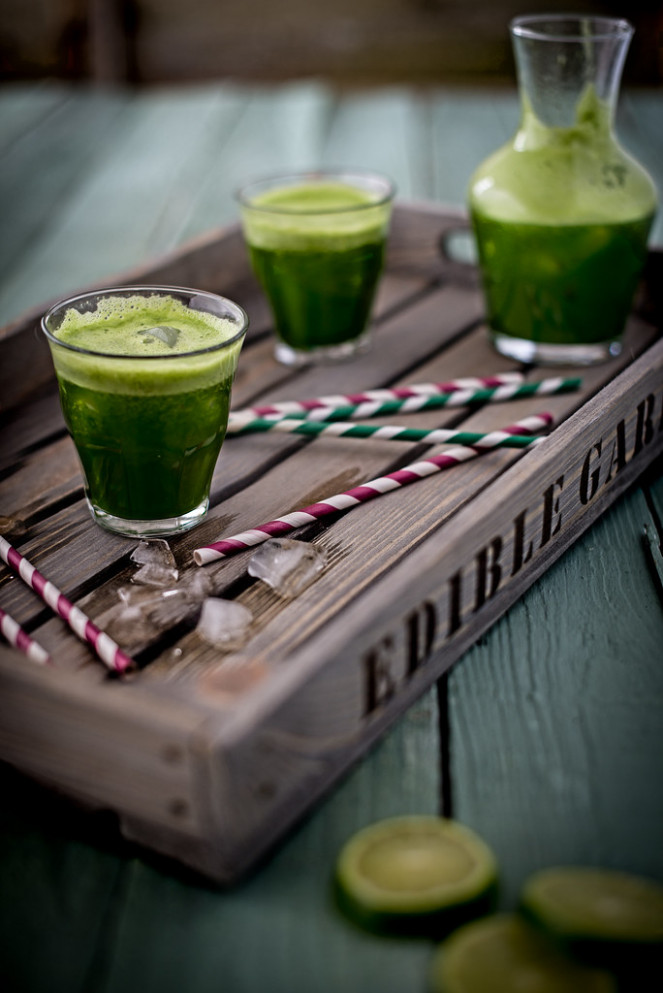 GREEN JUICE - healthy recipes juice