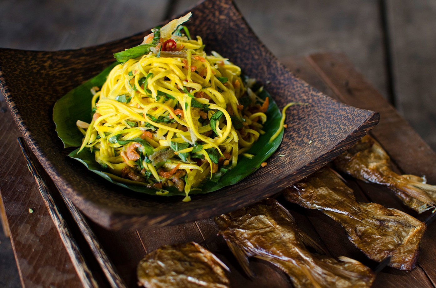 Green Mango And Dried Shrimp Salad Recipe : SBS Food - Food Recipes Online